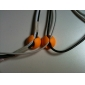 מארגן ניהול כבלים (6 חבילת יח') (צבע אקראי)