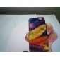 Colorful Feather Pattern Hard Case for iPhone 5/5S