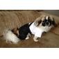 Собаки Костюмы смокинг Черный Одежда для собак Зима Весна/осень Цветовые блоки Свадьба Косплей