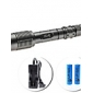 z5 5 mode cree XM-L T6 zoom lampe torche LED set (1600lm, 2x18650)