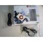 Белый МР3 плеер на клипсе (читает SD и TF карты)