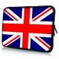 "Union Flag Neoprene Laptop Sleeve Case for 10-15"" iPad MacBook Dell HP Acer Samsung"