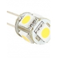 G4 5 SMD LED 50Lm Warm White Light Bulb 12V (2-pack)