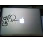 Autocollant type Dinosaure Mignon pour Macbook Air Pro 11
