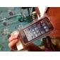 Accessi - Etui iPhone 5 - Transparent - Cadre de pare-chocs (TPU, Noir)