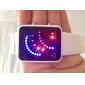 שעון יד תבנית צבע בנד 29 הכחול ואדום LED מגזר LED