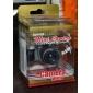 mini-câmera flash charme chaveiro som do obturador de brinquedo (navio aleatório)