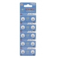 AG1 364A 1.55V High Capacity Alkaline Button Cell Batteries (10-pack)