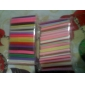 קישוטי 100pcs 3d קני מקל מוט מדבקות ציפורני אמנות (צבע אקראי)