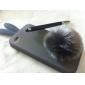 Etui en Silicone Style Lapin pour iPhone 4 - Gris