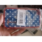 Protective Polycarbonate Bumper and Cover for iPhone 4 and iPhone 4S (Anchor and Dots)