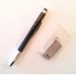 Premium 2-in-1 Capacitive Touchscreen Stylus + Ballpoint Pen for iPad, iPhone, Android Phones and Tablets