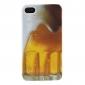 öl bubbla mönster hårt fodral för iPhone 4 och 4S