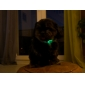 Adjustable Lovely Dog Pattern Night Safety LED Flash Collar for Dogs (Assorted Color,Neck:22-30cm/8.6-11.8inch)