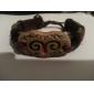 mode en cuir à la main bracelet zodiac Bélier (bss26)