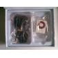 Leitor MP3 - Cartão SD e TF (Branco)