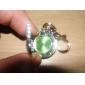 bonita mariposa pc cuarzo llavero reloj (color verde)