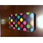 Etui en Silicone à Pois pour iPhone 4/4S - Couleurs Assorties