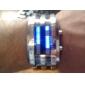 Relógio LED com os Dias da Semana