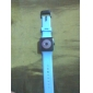 Unisex Quartz Two-Dot Dial Silicone Band Wrist Watch (Blue) Cool Watch Unique Watch