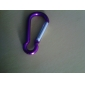 4mm Aluminum Carabiner Clip Red / Green / Black / Blue