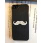 Case Dura para iPhone 5 - Bigode Branco