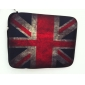 "Union Jack neopren tablett ermet sak for 10 ""samsung galaxy Fane2, ipad, motorola xoom"