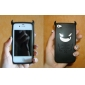 아이폰 4와 4S를위한 악마의 패턴 스타일의 실리콘 케이스