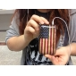 Case para iPhone 3G e 3GS - Bandeira Americana (Multi Cores)
