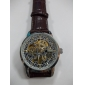 Men's Watch Auto-Mechanical Skeleton Hollow Engraving Noctilucent Wrist Watch Cool Watch Unique Watch Fashion Watch