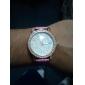 Women's Heart Shaped Design PU Analog Quartz Wrist Watch (Assorted Colors)