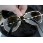 Lunettes de Soleil UV400 (Monture Argentée)