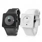 Par de Relógios Modernos Estilo Silicone (branco e preto)