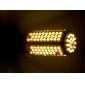 LED Lampe mit Warmen Licht, E27 168-LED 11W 890LM 3000K (220V)