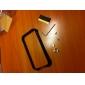 alumínio caso moldura para iphone 4