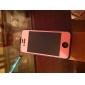 아이폰4, 4S용 앞&뒤 유색 가죽 터치 스크린 보호필름 (여러색상)