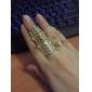 Позолоченные кольца пальца сплава