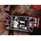Full Body Union Jack Pattern Screen Protector for iPhone 4 and 4S (Multi-Color)