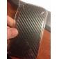 faixa electroplated padronizada de volta chama tampa e espelho para iphone 4 e 4S (cores sortidas)