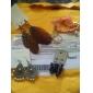 Lureme®Chiffon Chain Bowknot Pendant Bracelet Christmas Gifts