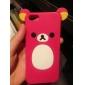 아이폰 5/5S (분류 된 색깔)를위한 작은 곰 디자인 소프트 케이스