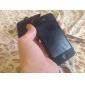 Чехлы из углеродного волокна, для iPhone 4 / 4S - черный