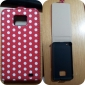 Spot Pattern Leather Case with Back Cover for Samsung i9100