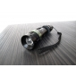 POWER STYLE 3-Mode Cree XR-E Q5 Zoom LED-taskulamppu (1x18650/3xAAA)