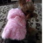 Dog Coat Red / Pink Dog Clothes Spring/Fall Floral / Botanical