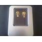 auscultadores de 3.5mm no ouvido tudo-em-um estilo metálico crânio para iphone 6 / iphone 6 mais (cores sortidas)