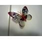 Im Dunkeln leuchtender Schmetterling