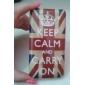 Crown British National Flag Pattern Hard Case for Samsung Galaxy S Advance I9070