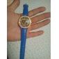 Leopard mulheres de Design PU analógico relógio de pulso de quartzo (cores sortidas)