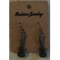 Women's Drop Earrings Fashion Costume Jewelry Alloy Guitar Jewelry For Party